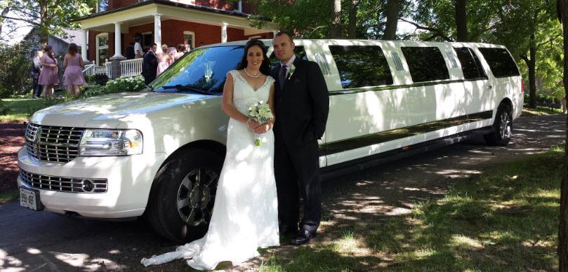 Ancaster Wedding Limo