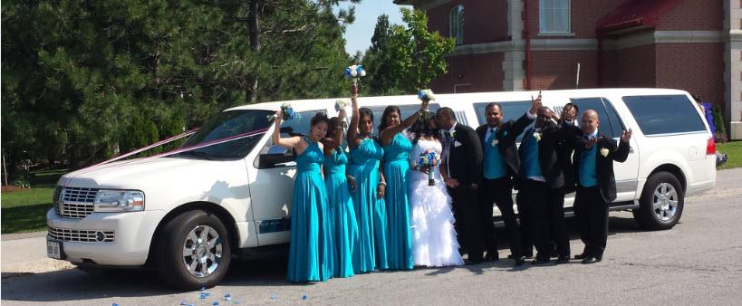 Hamilton Wedding Limousine