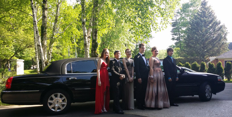 Burlington Prom Limousine